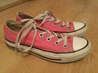 Size 3 pink converce