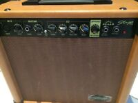 Stagg Acoustic Guitar/Keyboard Amp with Additional XLR Microphone Input