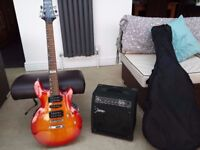 SHINE ELECTRIC GUITAR AND AMP