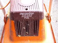 flymo sprintmaster lawn mower