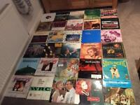 Job lot 159 off vinyl 33 rpm Lp's