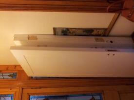 Premdor 1 wooden panel fire door white FD / 30 / 203x 82.5x4.5