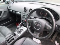 AUDI A3 8P AIRBAG KIT *2005* DSG S LINE (AIRBAG, FRONT BUMPER, HEADLIGHT, WING)