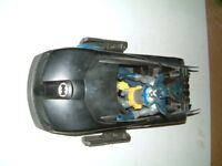 Batman and Car and full figure of batman, good used condition