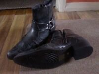 BN Findlay Cowboy Boots Size 9
