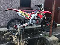 2010 CRF450R road legal