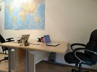 desk to rent in lively, friendly clapham office