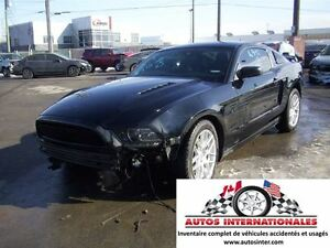 2013 Ford Mustang GT COUPE V8 5.0L MAG PNEU HIVER GR ELECT CUIR