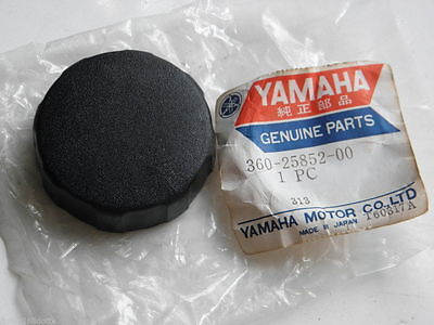NOS OEM Yamaha XS2 RD350 TX500 TX650 XS500 XS650 Master Cylinder Cap Reservoir