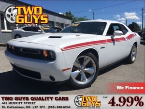 2016 Dodge Challenger R/T PLUS LEATHER ROOF ALPINE LOW KMS!!!!