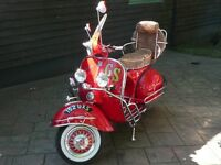 1962 Vespa GS160 Mk 2 'Little Red Rooster'