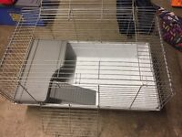 Large indoor guinea pig cage with 2 levels