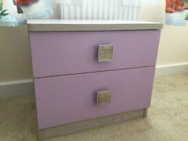 Bedside cabinet /drawers