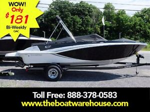 2017 Glastron GT 205 Mercruiser 250HP Trailer Extended swim