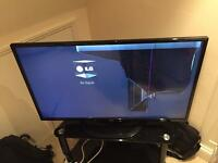 42 inch LG Smart TV (broken screen) LG 42LN575V
