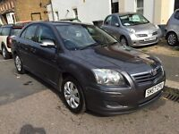 TOYOTA AVENSIS DIESEL 2007 (57) FULL COMPREHENSIVE HISTORY 9 STAMPS RECENT MAJOR SERVICE FOR £780