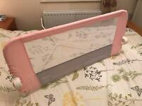 Child's bed side rail
