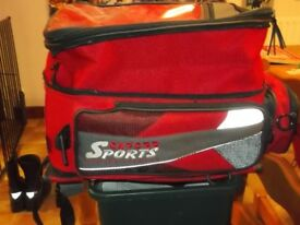 Motor Cycle Kappa Top Box and Oxford Sport soft Luggage