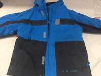 Blue parallel jacket 2-3 years