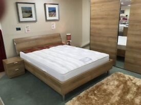 Nolte King-size bed - lights in headboard