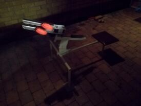 For sale double clay pigeon trap