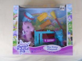 My Pony Playset - brand new