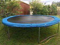 Trampoline 12ft diameter good condition