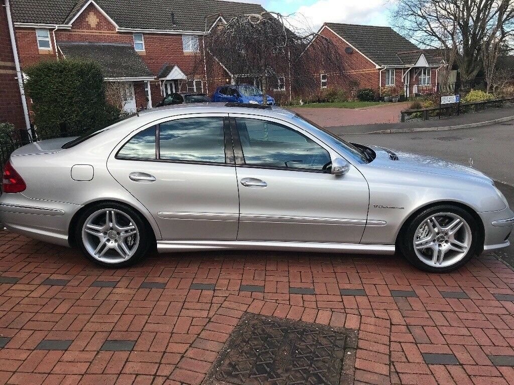 mercedes w211 e55 amg in chepstow monmouthshire gumtree. Black Bedroom Furniture Sets. Home Design Ideas