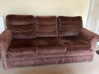 FREE 3 seater sofa with 2 armchairs **Collection only by 27th June**