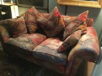 Two seater Cottage Sofa and matching armchair