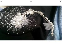 Bridle hair accessories and necklace, bracelet with ear rings