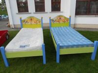 2 Childs Animal Beds With Mattress