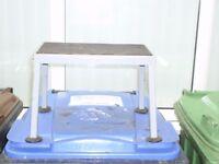 metal step for trailer tent or caravan