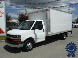 2016 Chevrolet Express 16ft Cube Van-Only 13K-Power Lift Gate