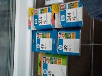 NEW HP Printer cartridges £10 for 6