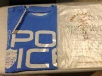 Men's Police T-Shirt (Brand New)