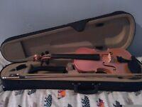 Violin for sale. Pink