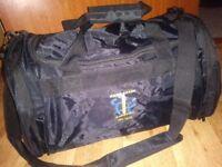 Medium black gary baker sports bag