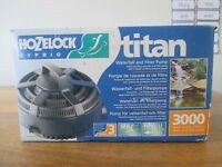 Hozelock titan 3000 Waterfall and Filter Pump