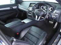 MERCEDES-BENZ E CLASS E200 AMG Line 2dr 7G-Tronic Auto (silver) 2014