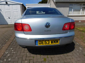 Volkswagen VW Phateon 2003 53 plate with very rare 4.2 V8 engine