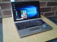 HP EliteBook 2170P laptop Intel 3.2ghz x 4 Core i5 3rd generation processor with backlit keyboard