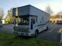 1998 Volvo FLC Horsebox Wagon Camper Camper van