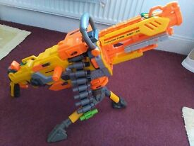 Nerf heavy machine gun - toy