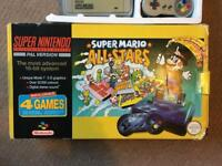 Nintendo snes mario all stars edition