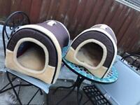 Dog beds igloo's