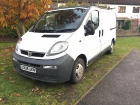 2006 VAUXHALL VIVARO 1.9DTI VAN,long MOT,NO pay T CHARGE for LONDON,like primastar,traffic,vito