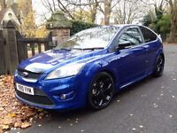 2010 FORD FOCUS ST-2 225 BHP PERFORMANCE BLUE VERY CLEAN TIDY EXAMPLE 83600 miles with full history
