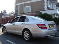 /// MERCEDES BENZ C280 ELEGANCE /// AUTOMATIC NEWER SHAPE FACELIFT 57 PLATE /// SAT NAV LEATHERS /