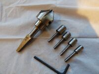 TWO Morticing Chisel (High Speed Steel) Sharpening Sets.